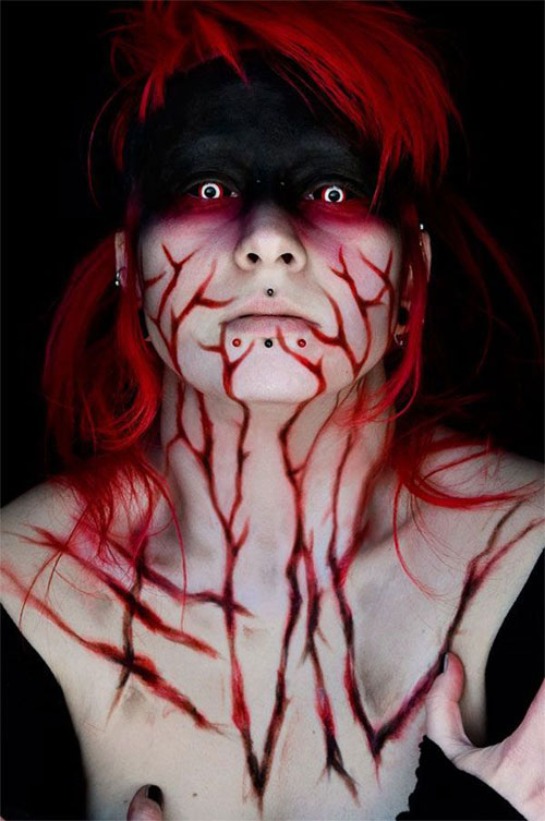 25-Scary-&-Horror-Face-Makeup-Ideas-Looks-Trends-2015-14