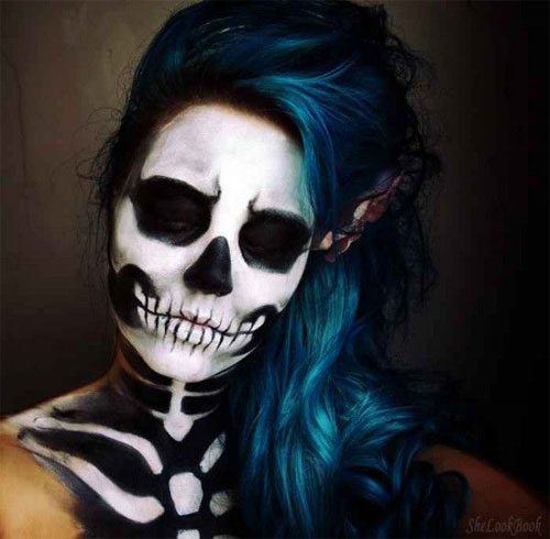 25-Scary-&-Horror-Face-Makeup-Ideas-Looks-Trends-2015-22