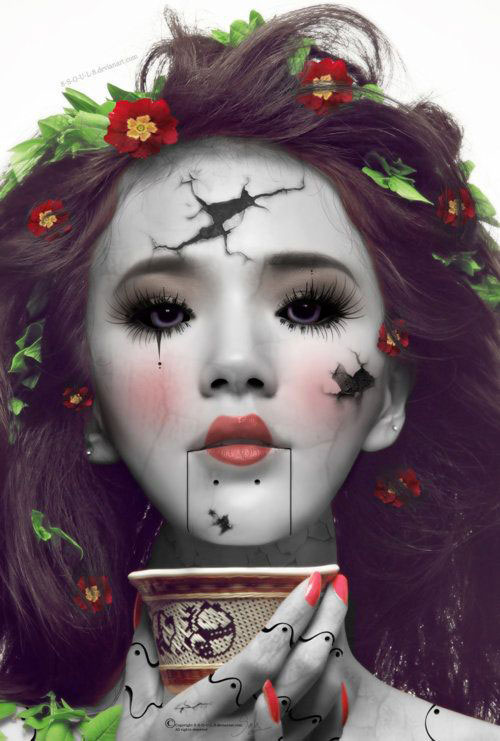 15-Doll-Halloween-Makeup-Ideas-Looks-Trends-2015-13