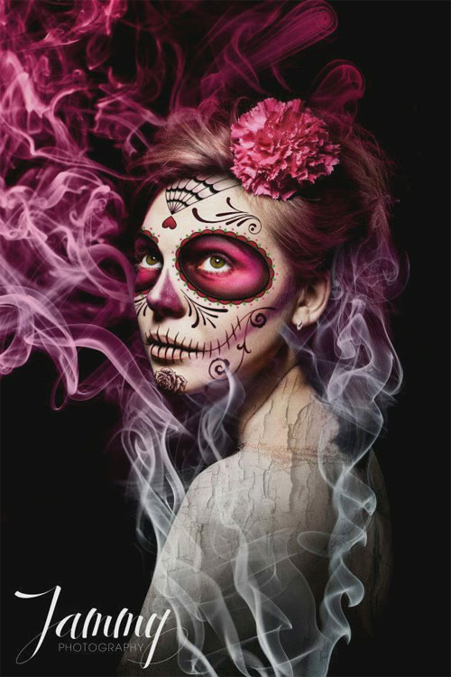 15-Skull-Halloween-Makeup-Ideas-Looks-Trends-2015-5