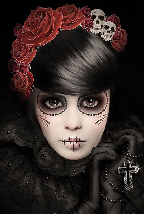 15-Skull-Halloween-Makeup-Ideas-Looks-Trends-2015-9