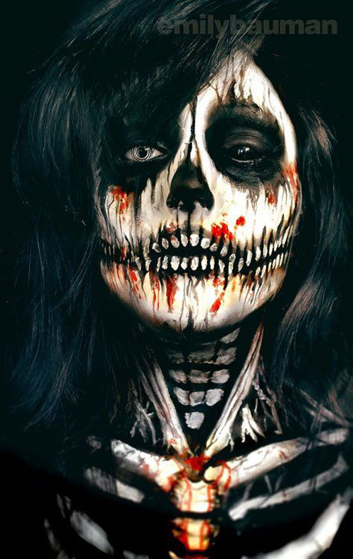 15-Skeleton-Halloween-Makeup-Ideas-Looks-Trends-2015-1