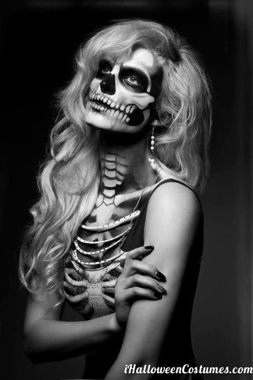 15-Skeleton-Halloween-Makeup-Ideas-Looks-Trends-2015-3