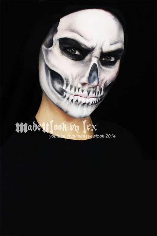 15-Skeleton-Halloween-Makeup-Ideas-Looks-Trends-2015-5