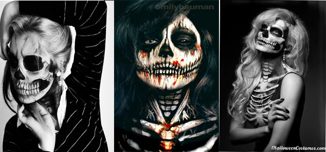 15 skeleton halloween makeup ideas looks trends 2015