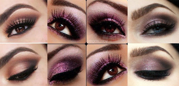 20 Valentine's Day Eye Makeup Ideas, Looks & Trends 2016