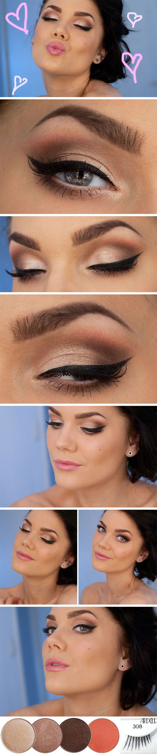 20-Valentine's-Day-Face-Makeup-Ideas-Looks-Trends-2016-17