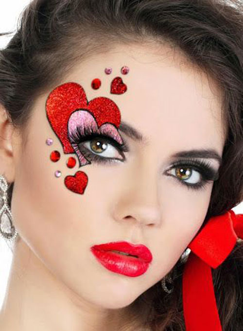 20-Valentine's-Day-Face-Makeup-Ideas-Looks-Trends-2016-18