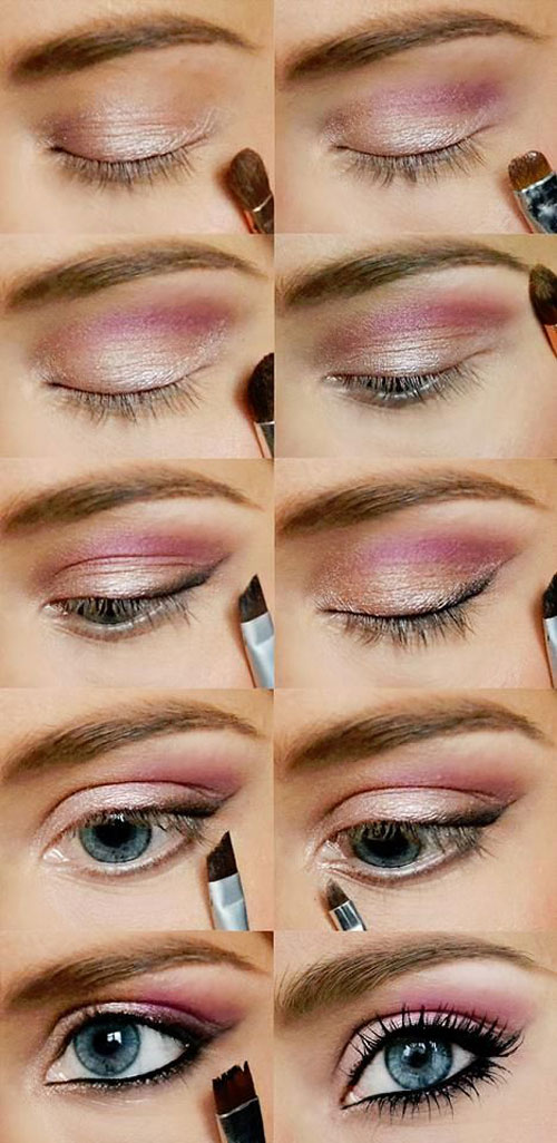 15-Easy-Step-By Step-Valentine's-Day-MakeUp-Tutorials-For-Beginners-&-Learners-2016-3