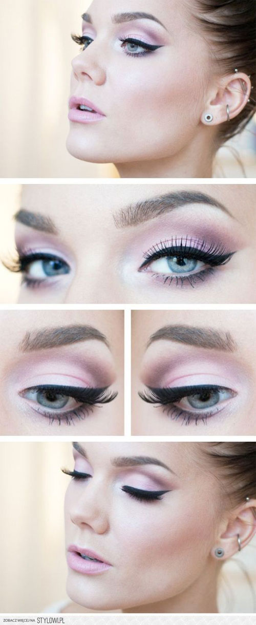 15-Easy-Step-By Step-Valentine's-Day-MakeUp-Tutorials-For-Beginners-&-Learners-2016-8