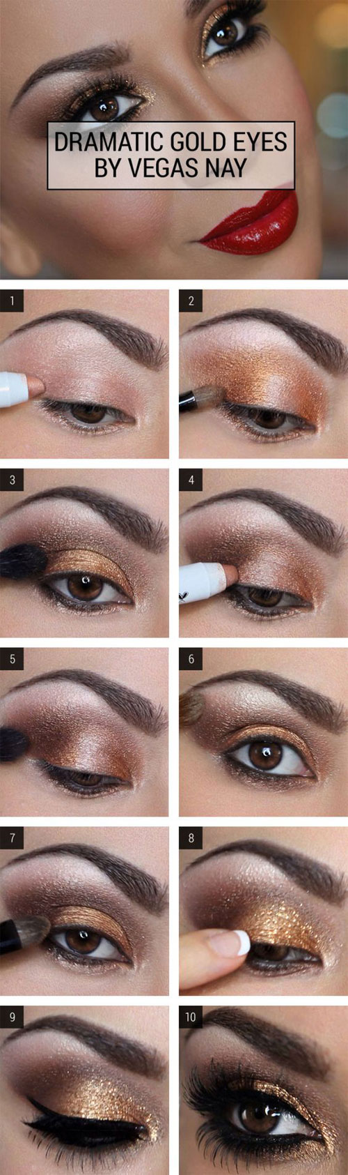 15-Easy-Step-By Step-Valentine's-Day-MakeUp-Tutorials-For-Beginners-&-Learners-2016-9