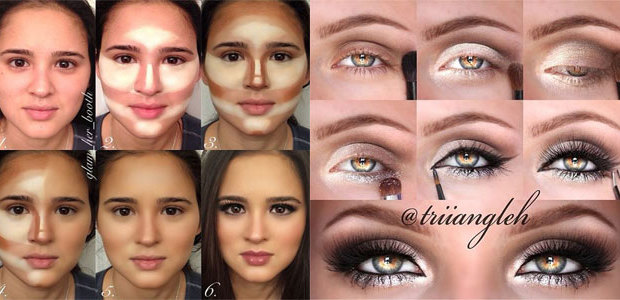 15 Easy Step By Step Valentine's Day Make Up Tutorials For Beginners & Learners 2016