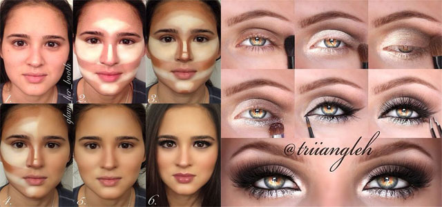 Makeup Step By Step In Pictures